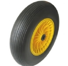 PU1081 FLAT FREE WHEEL TIRES