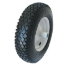 PU1080 FLAT FREE WHEEL TIRE