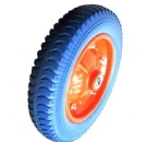 PU1048 FLAT FREE WHEEL TIRE