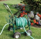 Garden hose wagon cart